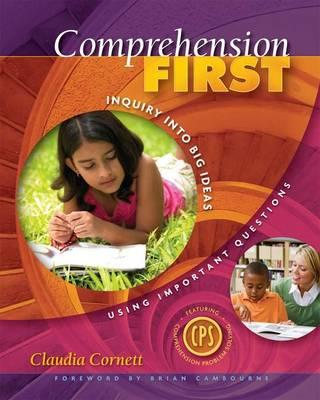 Comprehension First By Cornett, Claudia